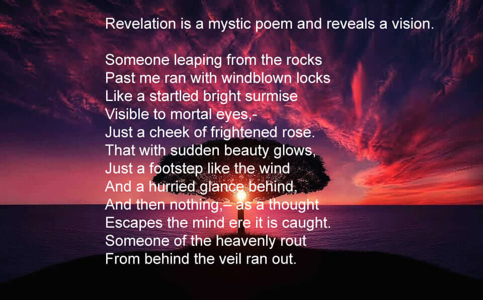 Revelation Poem By Sri Aurobindo