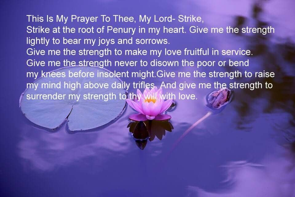 This Is My Prayer To Thee, My Lord